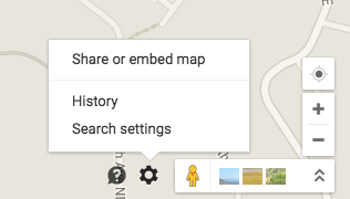 How to get a short link from a Google Maps location